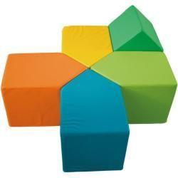 Furniture  Jakoo building blocks house colorful Jakoojakoo