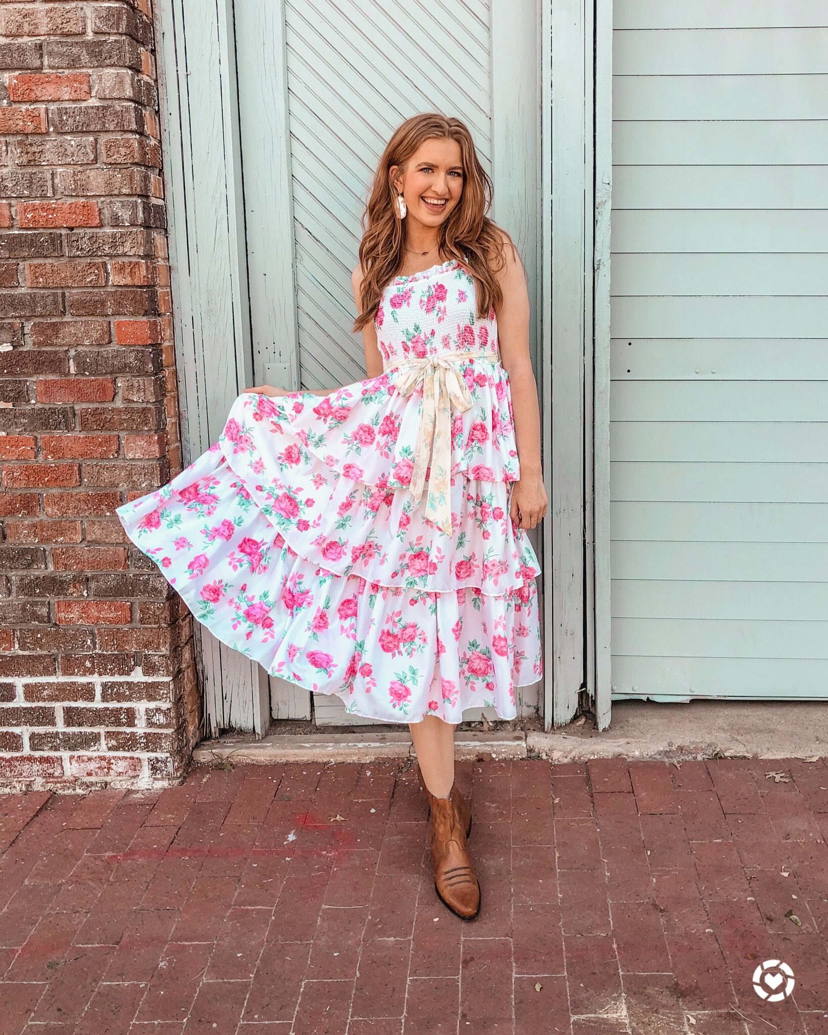 Loveshackfancy X Target Summer Dresses Sundress Fashion [ 2048 x 1639 Pixel ]
