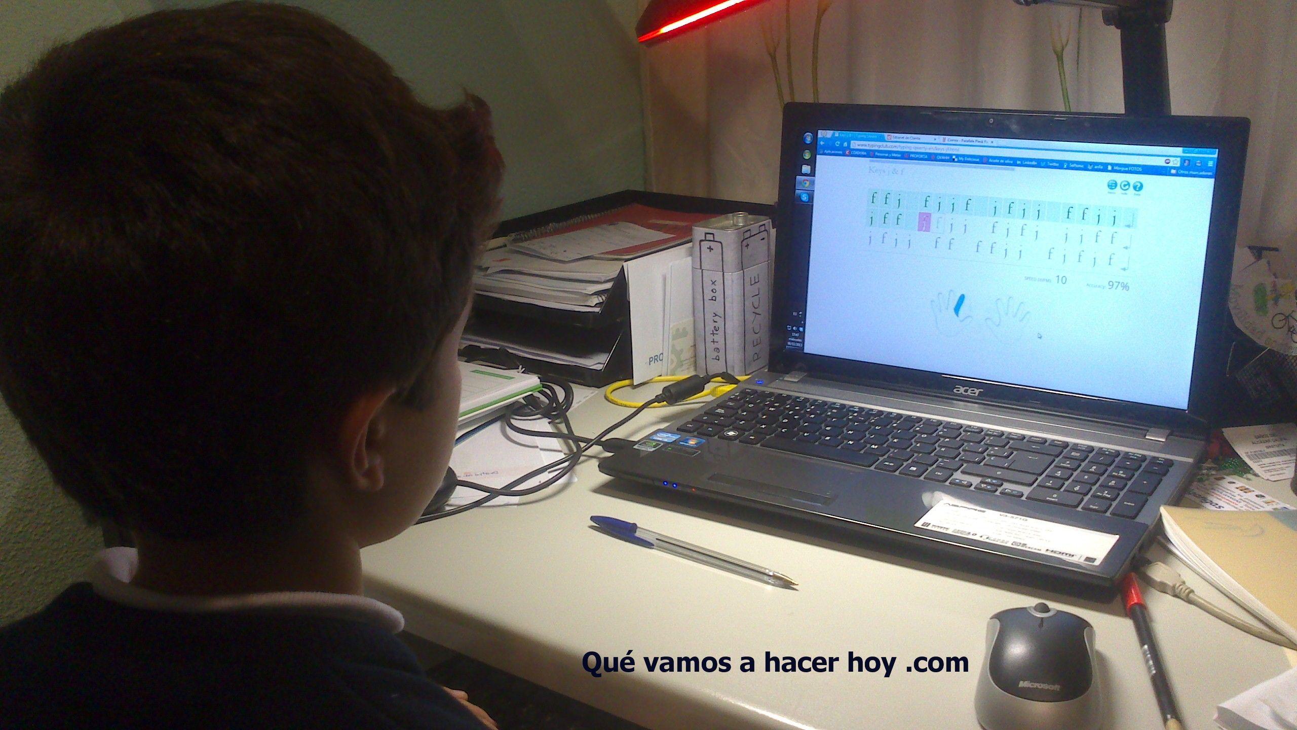 4 Recursos De Mecanografía Online Para Niños Niñas Y Mayores Gratuitos Qué Vamos A Hacer Hoy Niños Ordenador