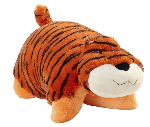 My Pillow Pets Mr Tiger Large Orange Pillow Pets Tiger