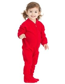 2744b71f2c6a Bright Red Footed Pajamas
