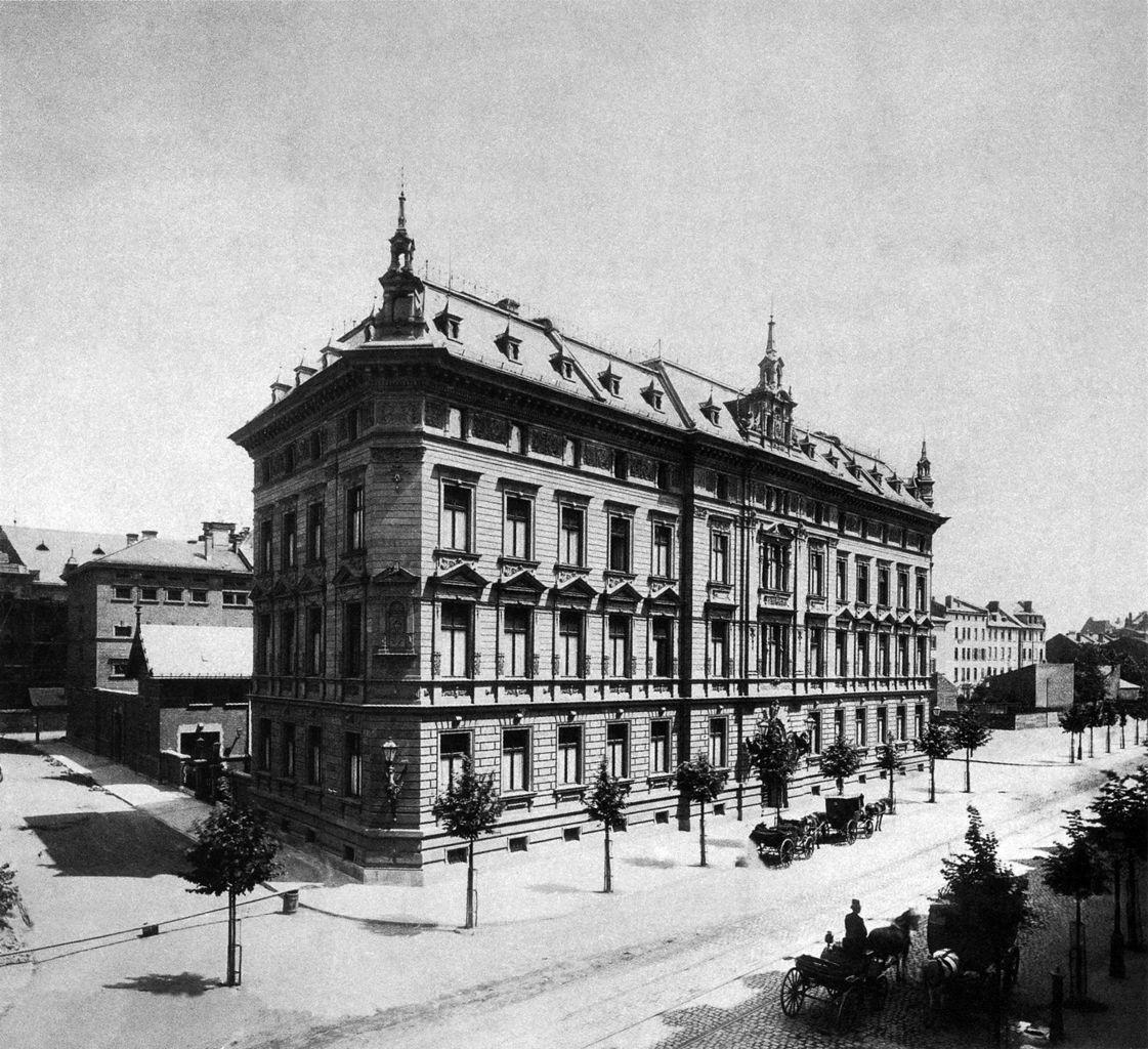 Frankfurt am Main — Gebäude des Polizeipräsidiums an der