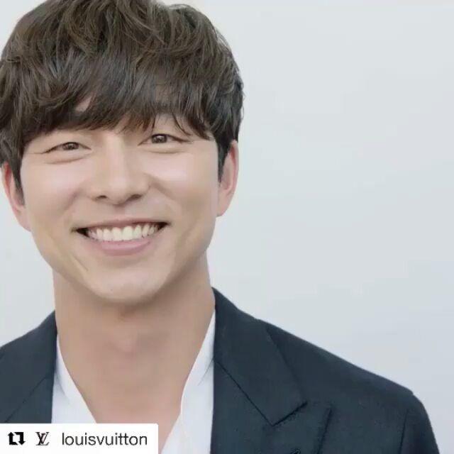 Starry night,  starry smile,  Good Night Ji Chul ssi ☺️ Repost @louisvuitton  #gongyoo #gongjichul #孔劉  #공지철  #공유 #コンユ