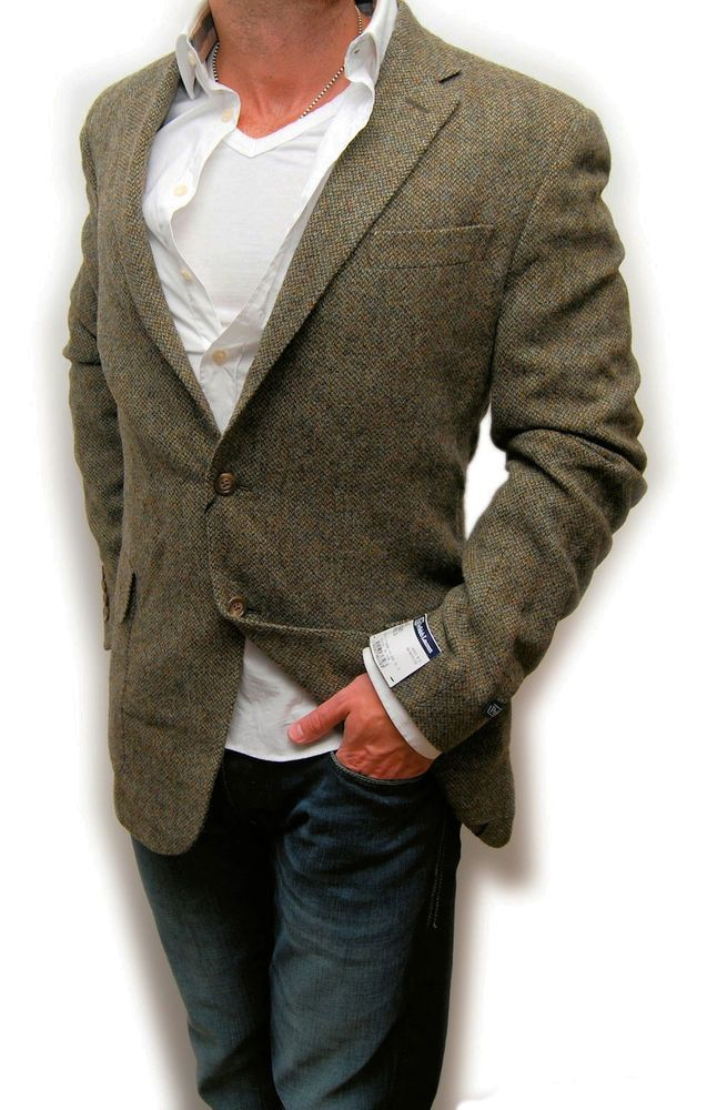 eBay Sponsored Polo Ralph Lauren Mens Hacking Wool Jacket