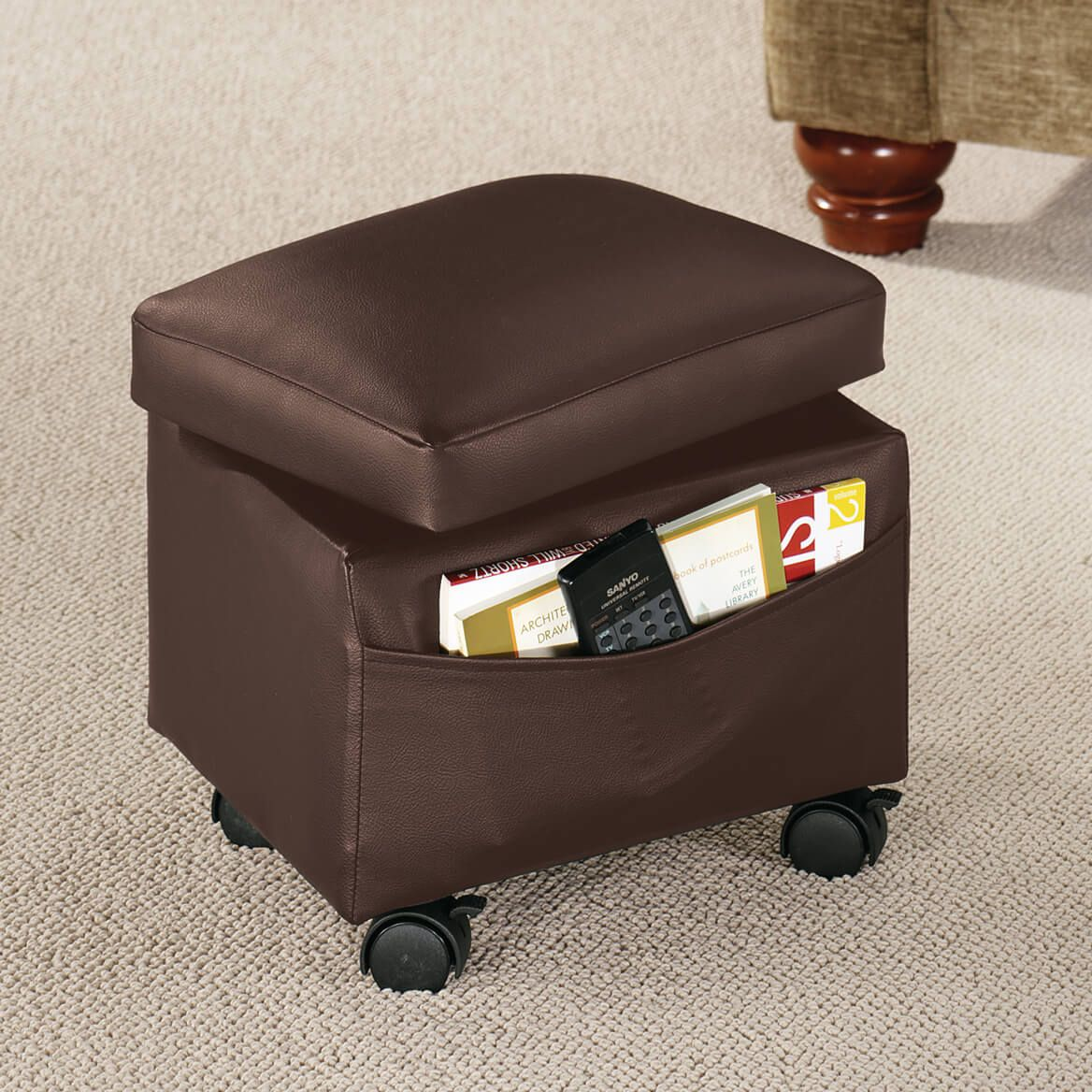 Sensational Flip Top Small Storage Ottoman By Oakridge Accents Andrewgaddart Wooden Chair Designs For Living Room Andrewgaddartcom