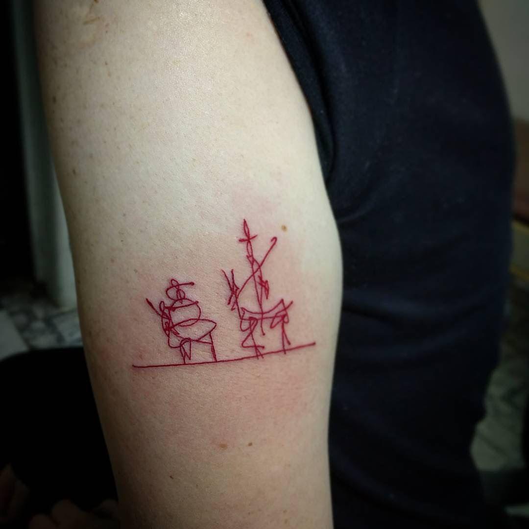 Tatuajeliterario #quijote #tattoo | Tatuajes Inspirados En
