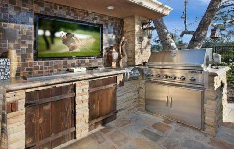 Cucine da esterno in muratura | Ideas....y más nel 2019 ...