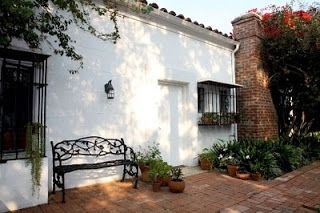 This Photo Shows The Front Door To Marilyn S House With The Tiles
