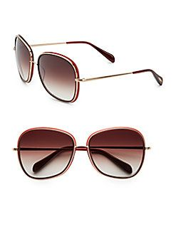 Emely 60MM Square Sunglasses