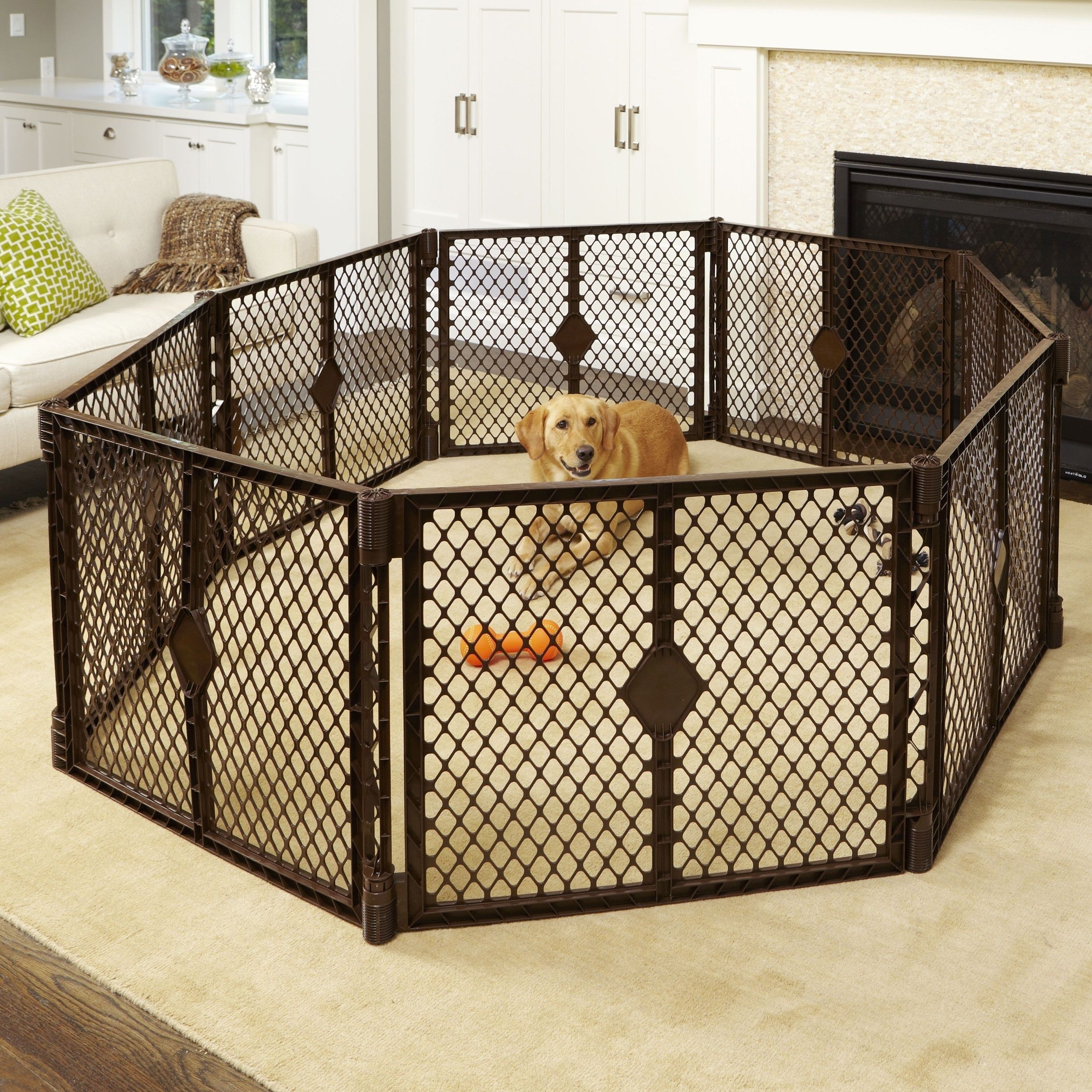 North States Stages Indoor Outdoor Petyard Pet Playpen