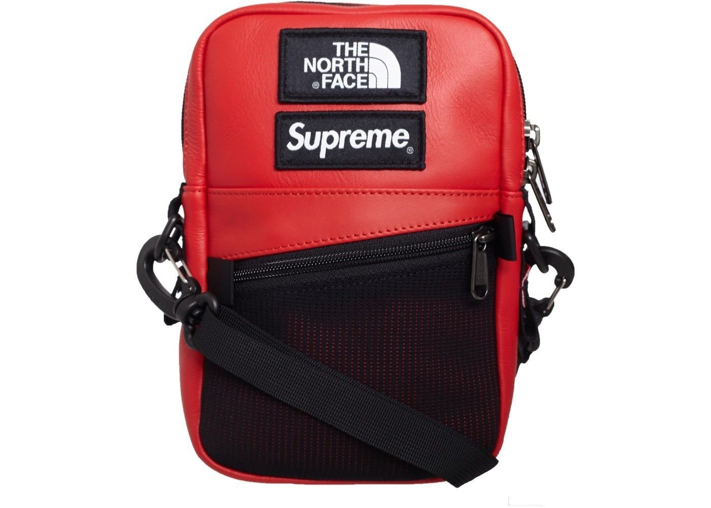 a2425e323 Supreme x The North Face (TNF) Shoulder Bag Red FW18 IN HAND | eBay ...
