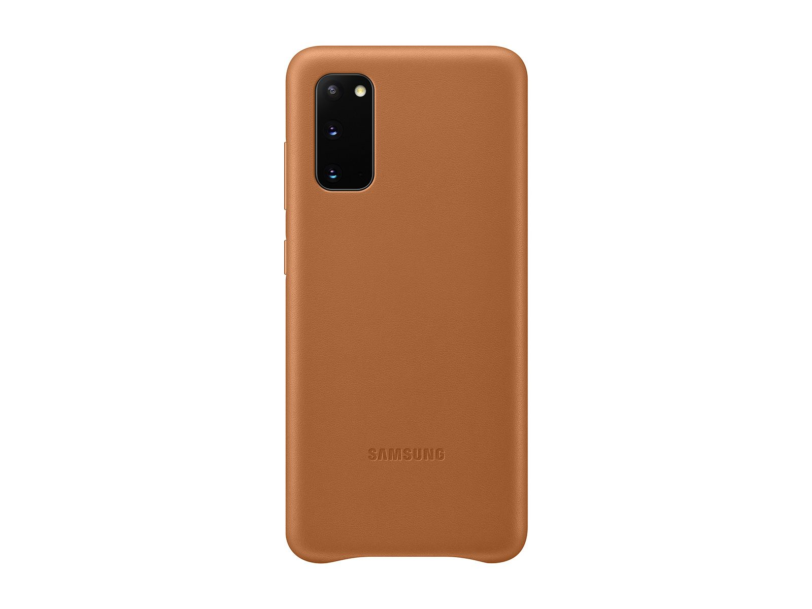 Samsung Galaxy S20 5G Leather Cover, Brown