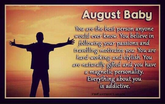 August 2nd   August Born ♛ 802♌Leo   August baby, August