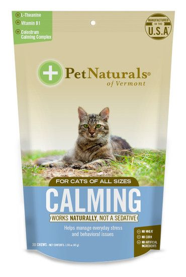 Calming For Cats By Pet Naturals Calming Cat Pets Calming Treats For Dogs