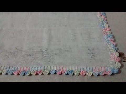 Bico Em Croche Para Fralda Super Facil Passo A Passo Bicos