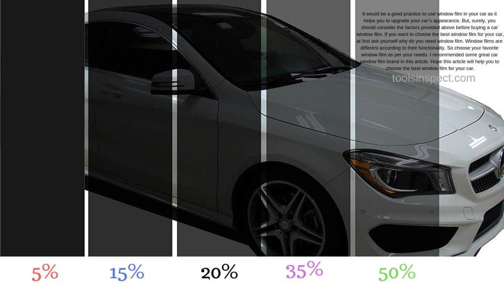 Best Window Tint For Cars 2020 Expert Review Buying Guide