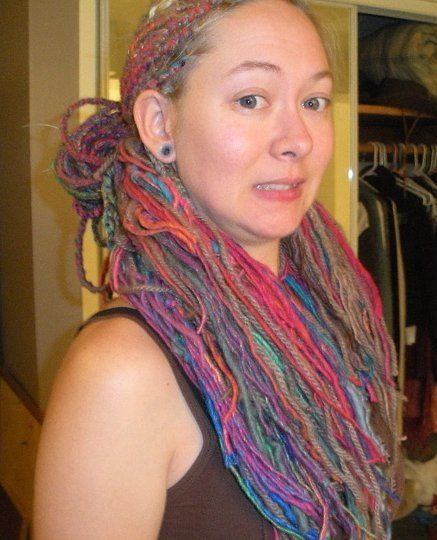 Darceypet's \'Muppet Hair\'/ yarn extensions