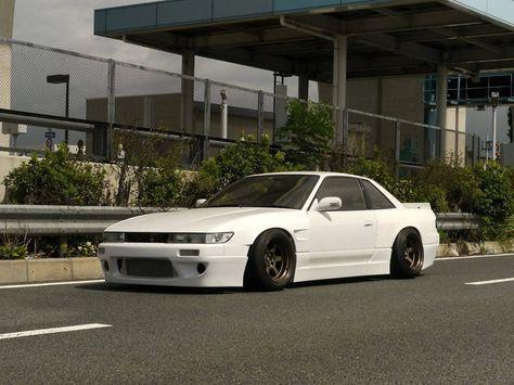 Nissan S Chassis Zenki Kouki Hatchback Coupe Sileighty Onevia Varietta 240sx 180sx Silvia S13 S14 S15 Nissan Silvia S13 Silvia Japan Cars