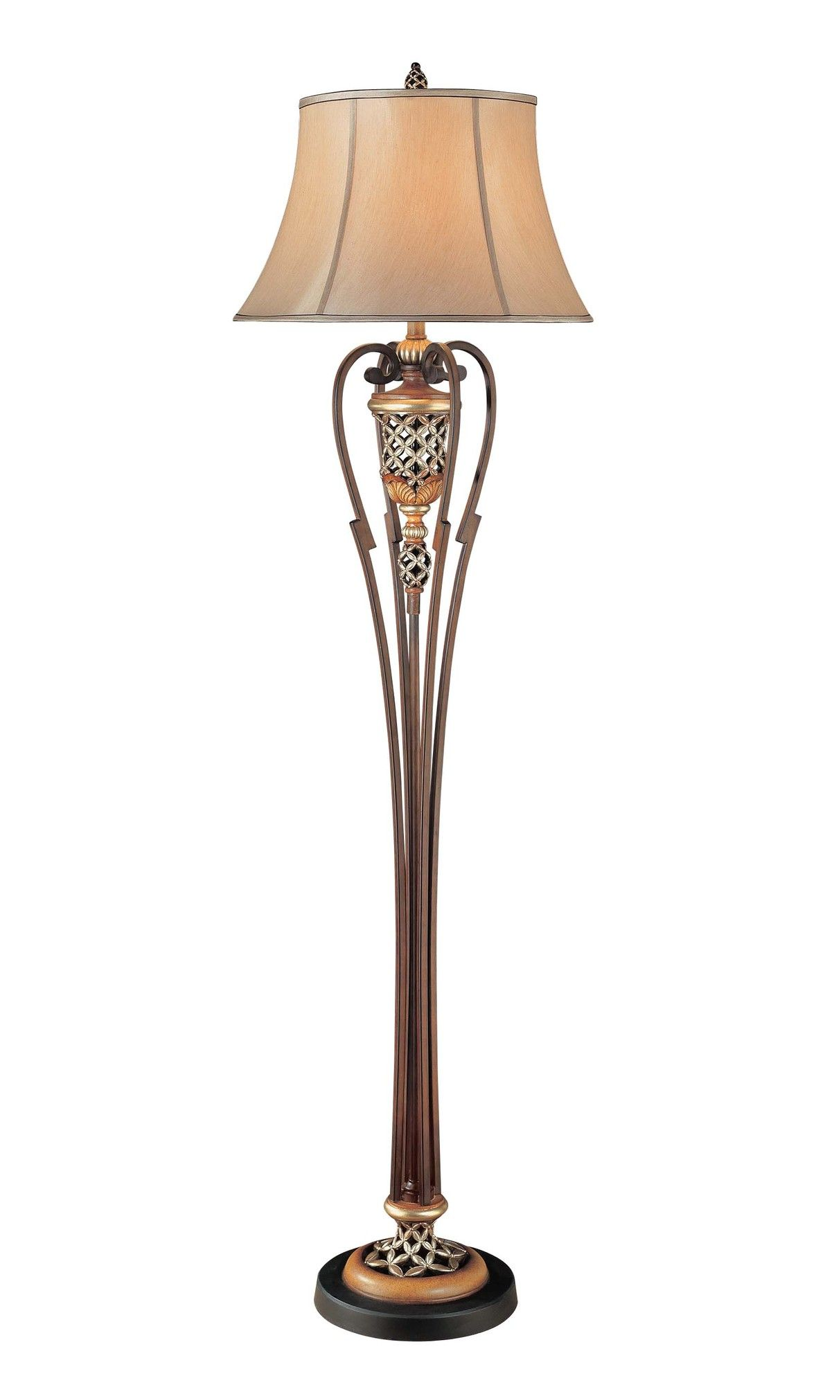 Minka lavery cabella floor lamp wayfair maskani lighting minka lavery cabella floor lamp wayfair mozeypictures Image collections