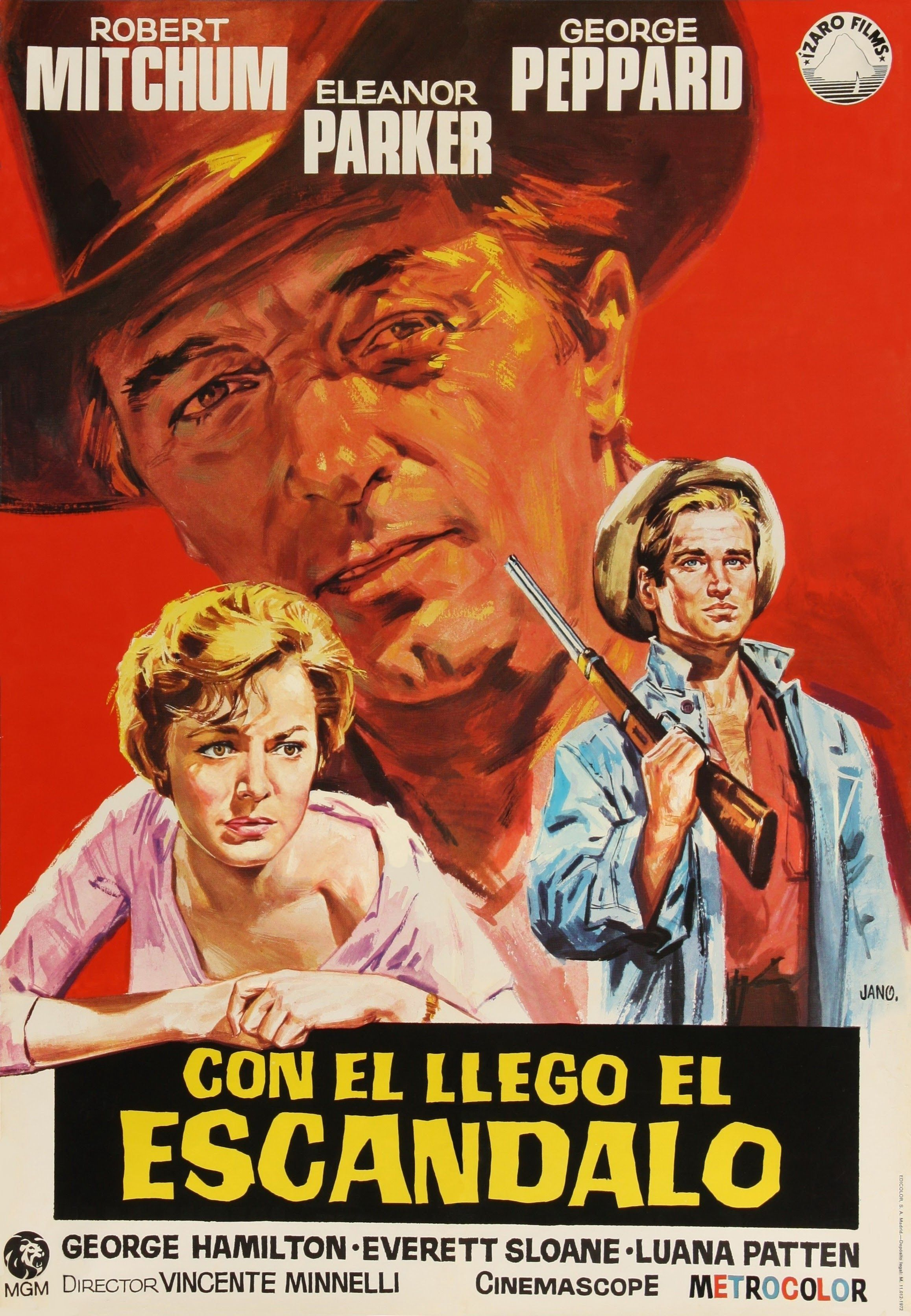 1960 Con él Llegó El Escándalo Home From The Hill Mejores Carteles De Películas Afiche De Cine Carteles De Cine
