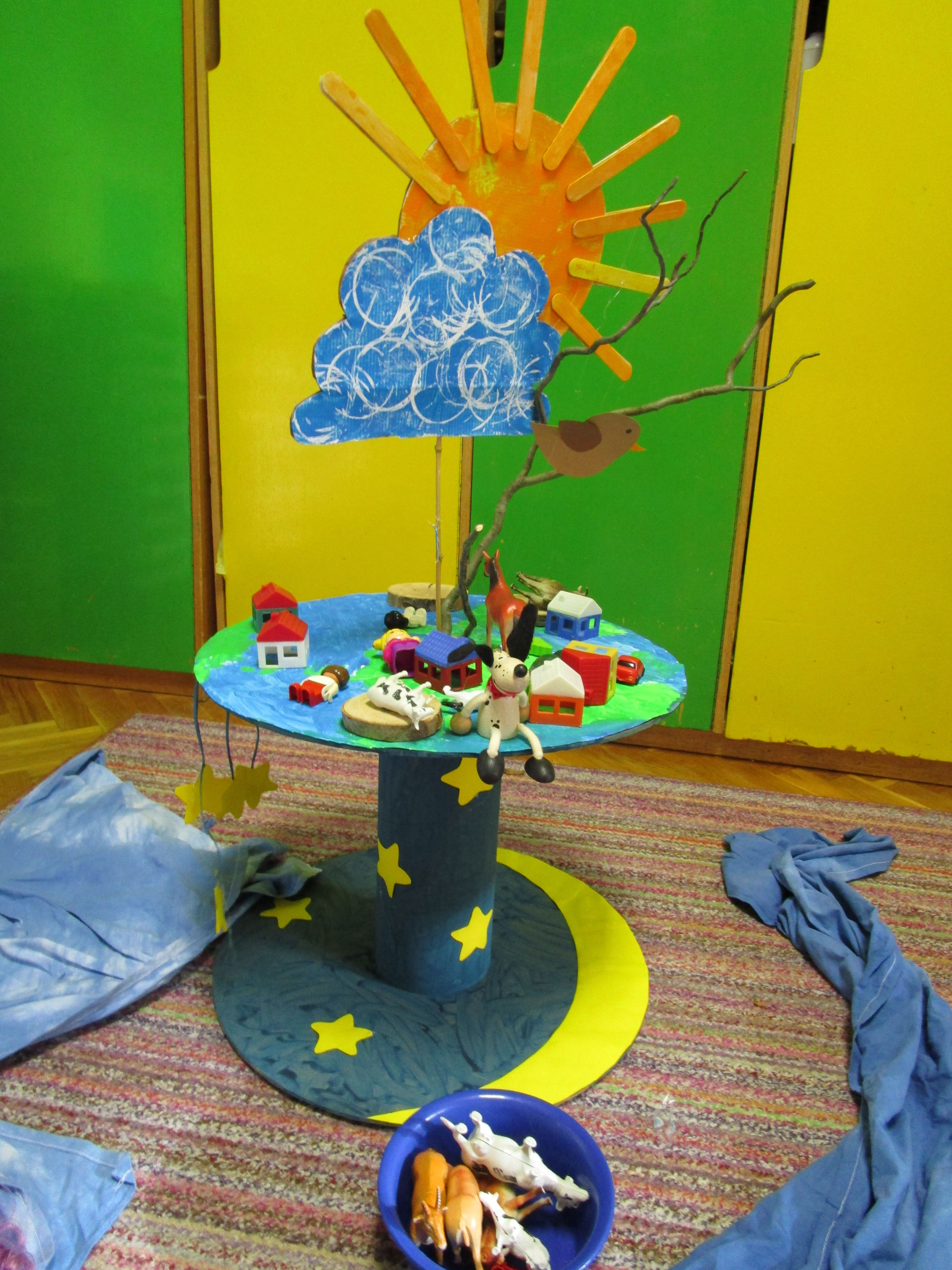 Earth day -  small world play