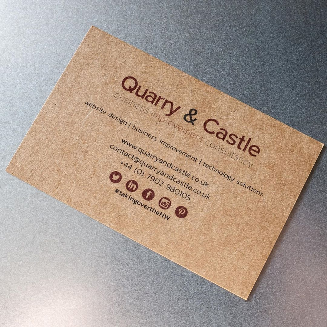 Check Out Our New Eco Friendly Business Cards From Instaprint Takingoverthenw Eco Friendly Business Cards Calling Cards Cards