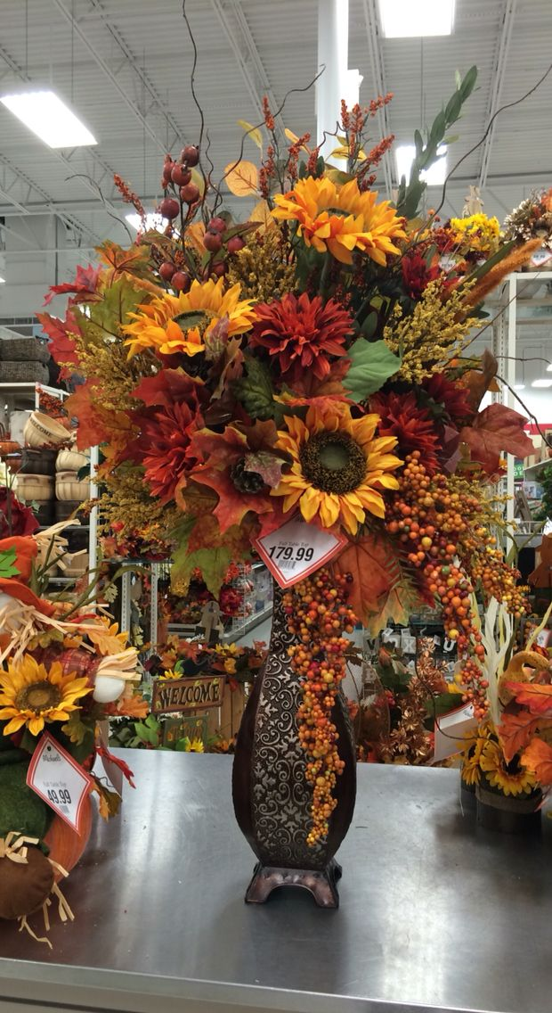 Large Autumn arrangement 2016 by Andrea Fall flower