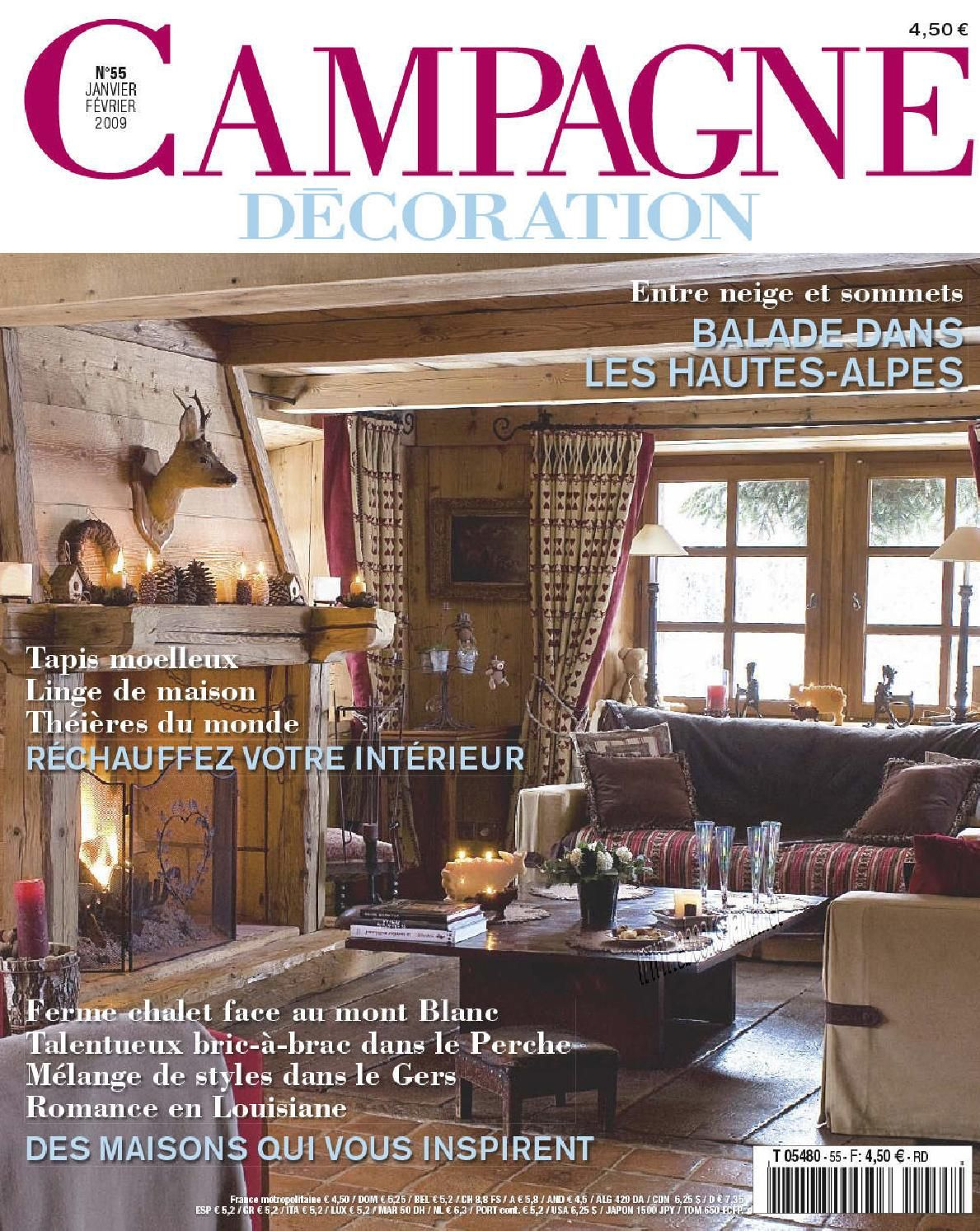 Campagne Décoration Magazine Campagne Decoration N55 Campagne Decoration Magazin Magazines