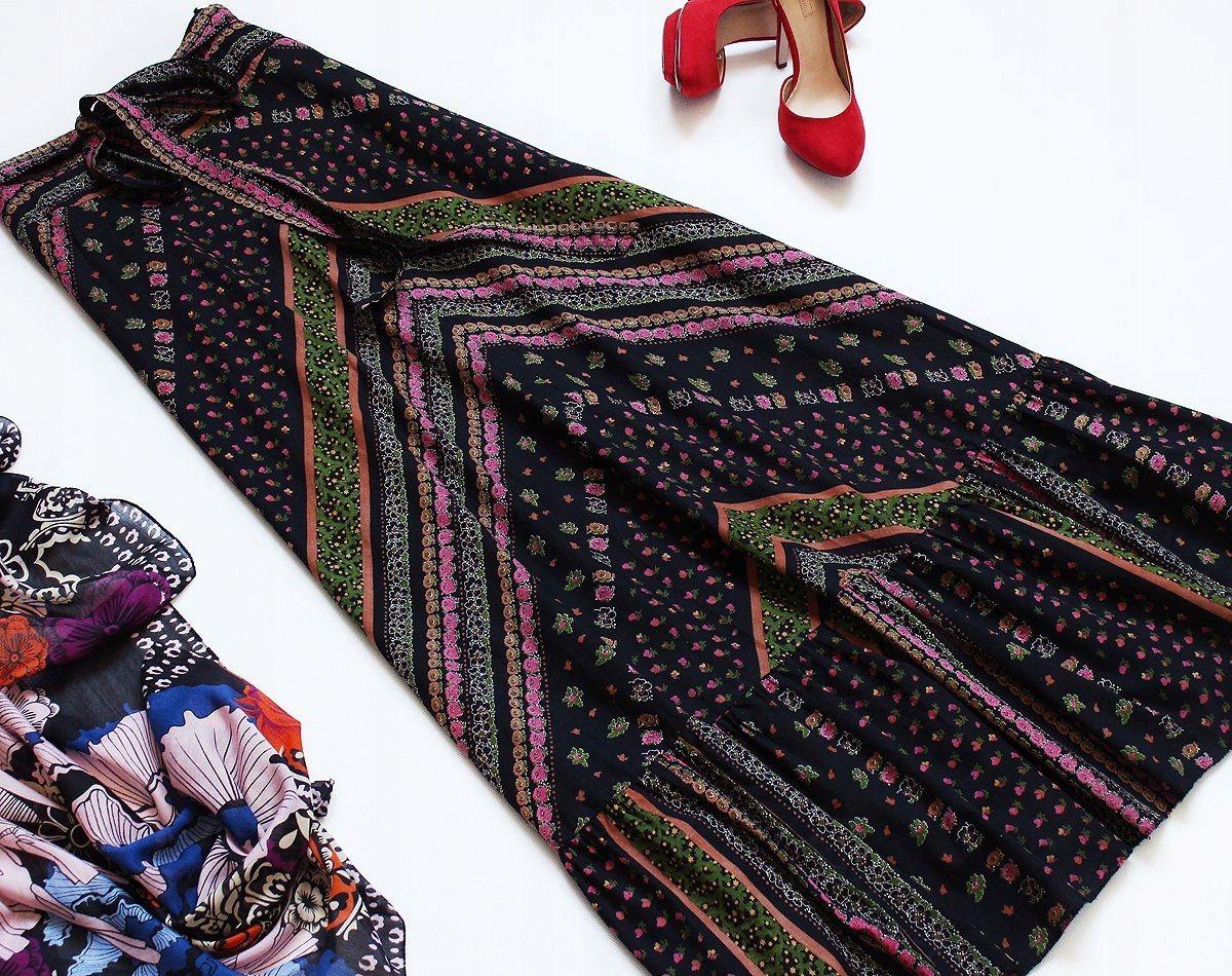 Ralph Maxi Dluga Spodnica Wysoki Stan Tall Xs S 7576020070 Oficjalne Archiwum Allegro Moda Vintage Fashion
