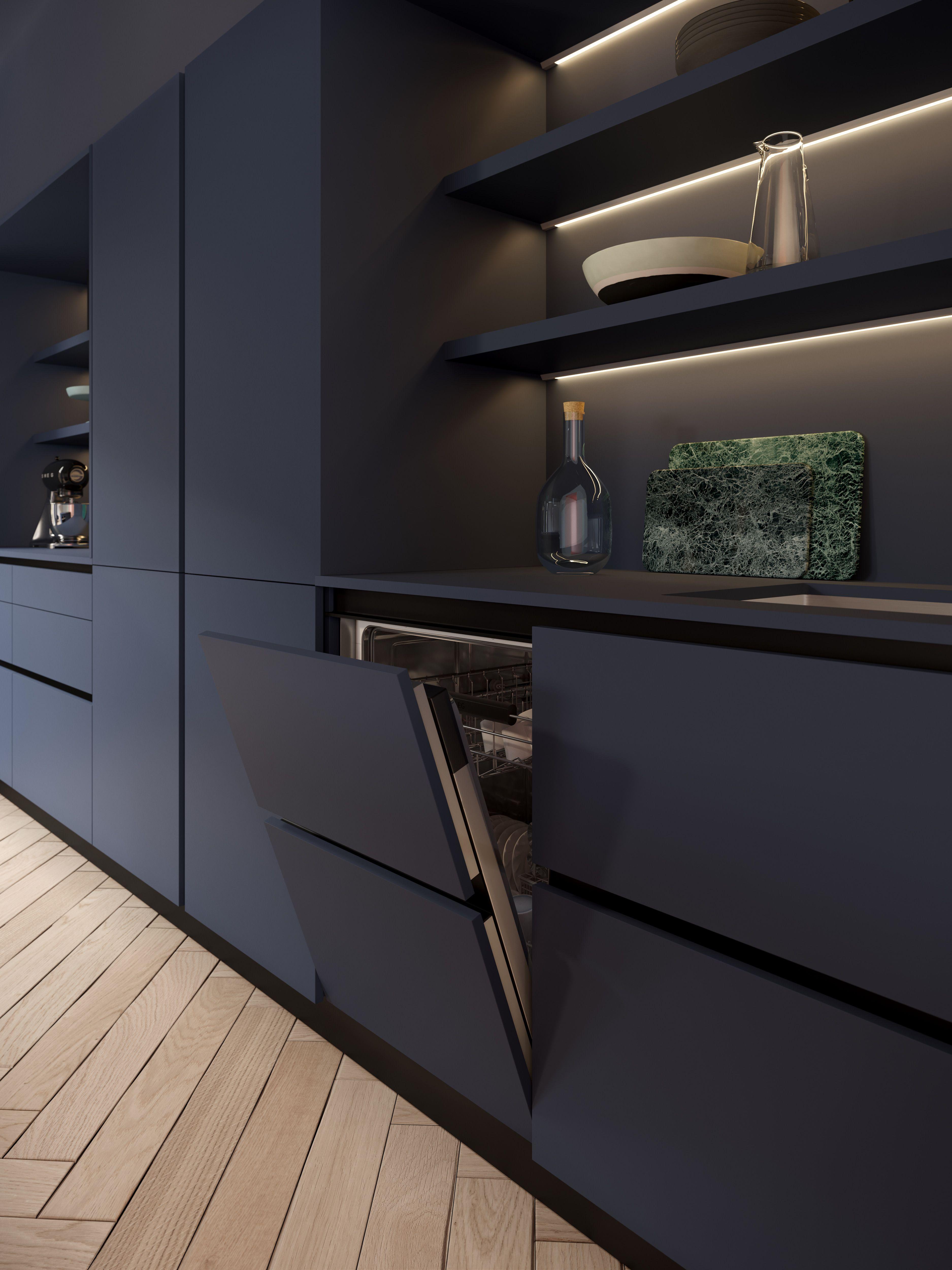 3D Visualization of a modern kitchen by Valentinstudio ...