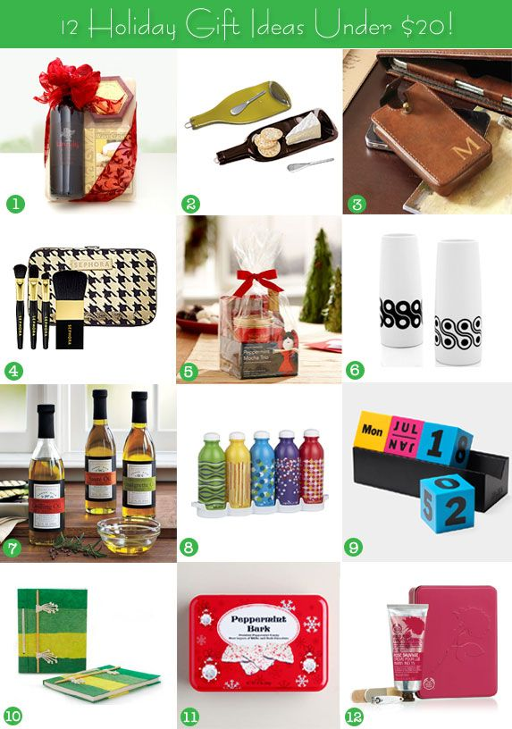 12 Holiday Gift Ideas Under 20 That Are Practical