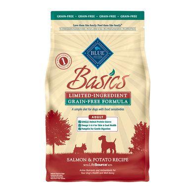Basics, GrainFree Adult Salmon & Potato Salmon potato
