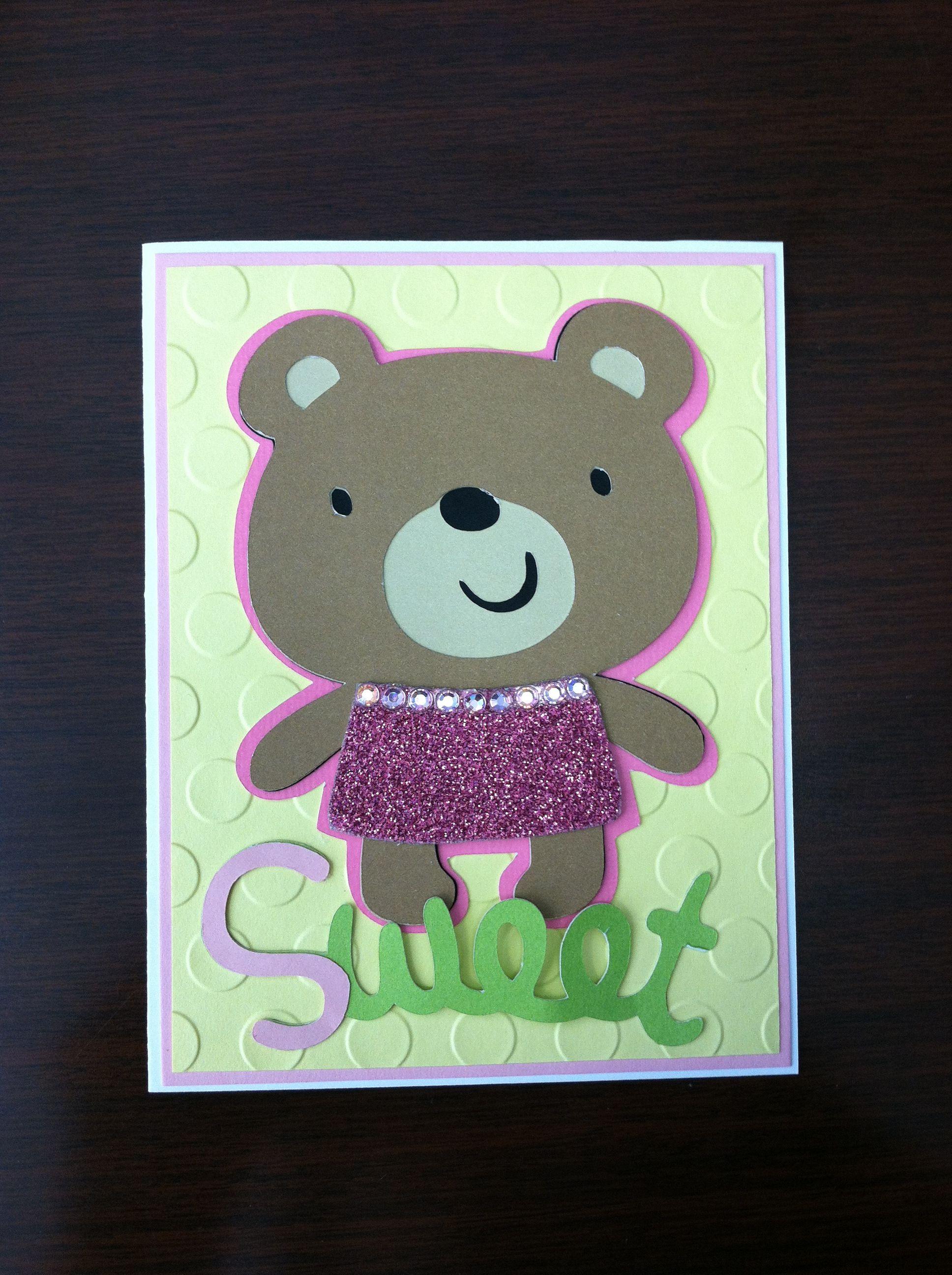 Baby girl card baby girl cards cards i card