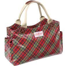 cath kidston tartan day bag