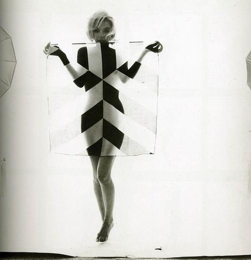 stripes + marilyn