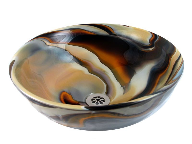 Glass Art In Fused, Mosaic U0026 Hand Blown Glass StylesBear Creek Glass Desert  Sunset Classic