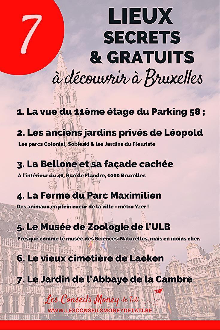 Photo of 7 lieux secrets & gratuits à découvrir à Bruxelles – Les Conseils Money de Tati
