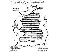 Scribe Fit Plaster Patch Plaster Patches Rock Lath