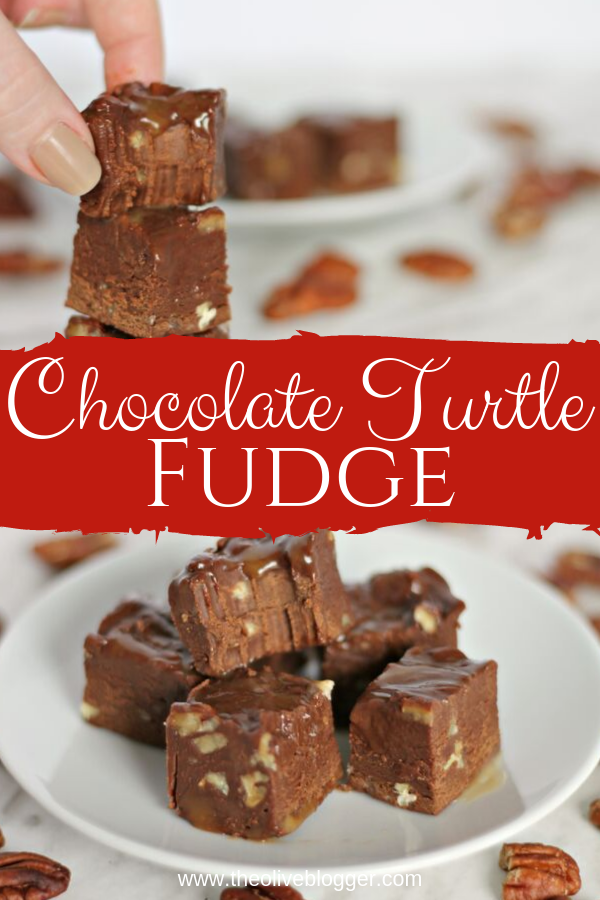 Chocolate Turtle Fudge Recipe An Old Fashioned Fudge Recipe Using Condensed Milk To Make It Creamy And Delicious Our Fudge Recipes Turtle Fudge Recipe Fudge