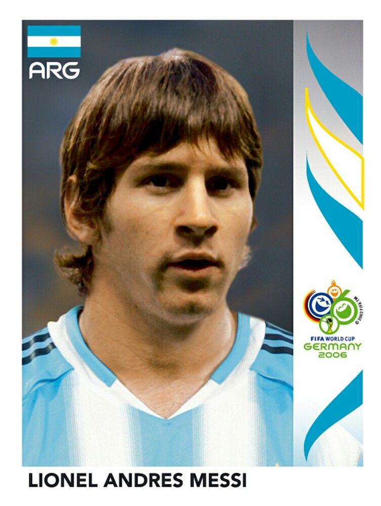 185 Lionel Andres Messi Argentina Fifa World Cup Germany 2006 Lendas Do Futebol Futebol Copa Do Mundo