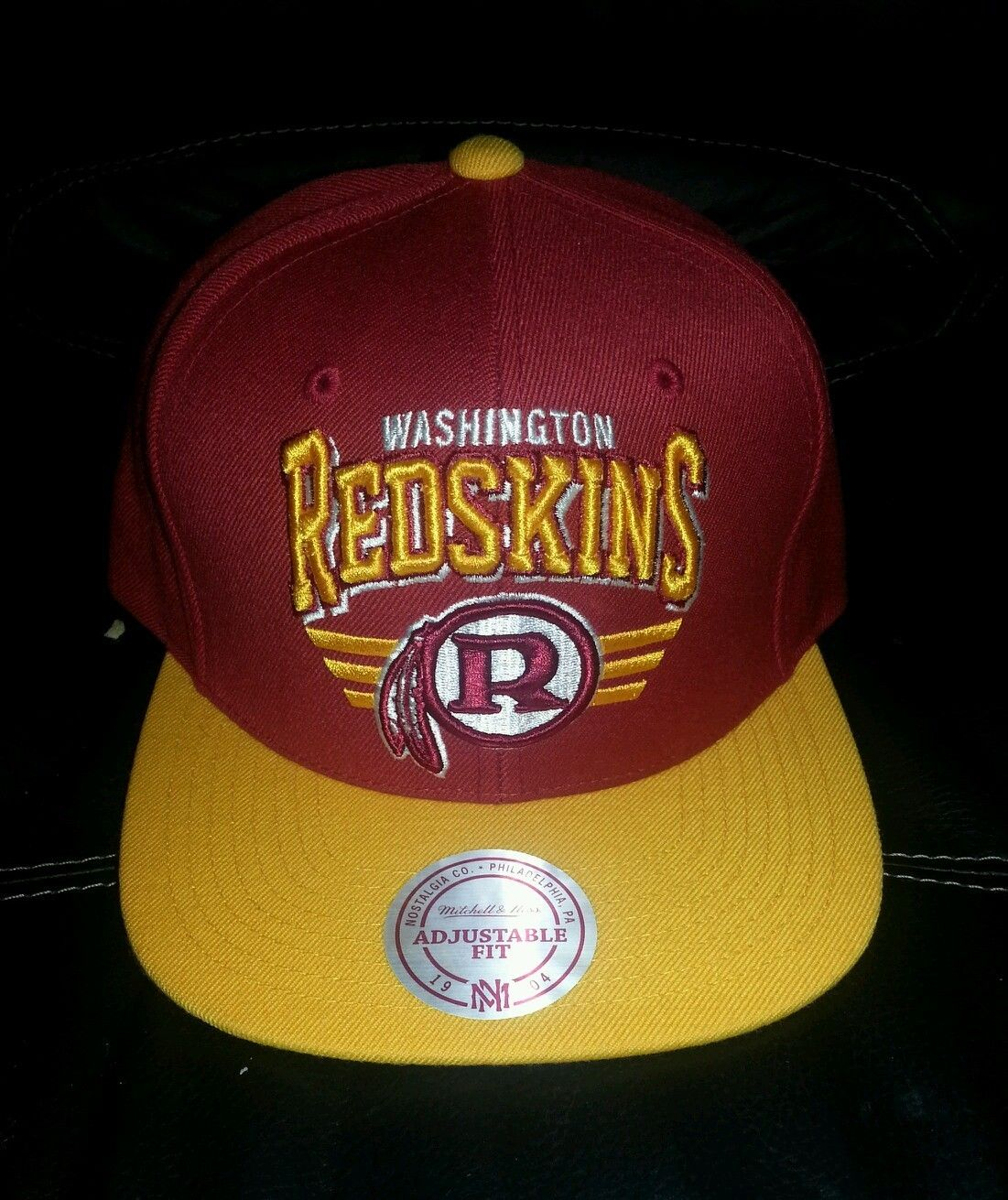 e9978829426 Nfl washington redskins mitchell and ness snapback