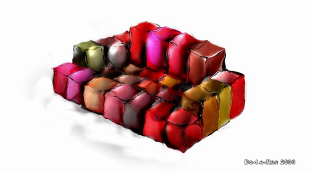 Do Lo Rez Sofa De Ron Arad #Designer #ProductDesign