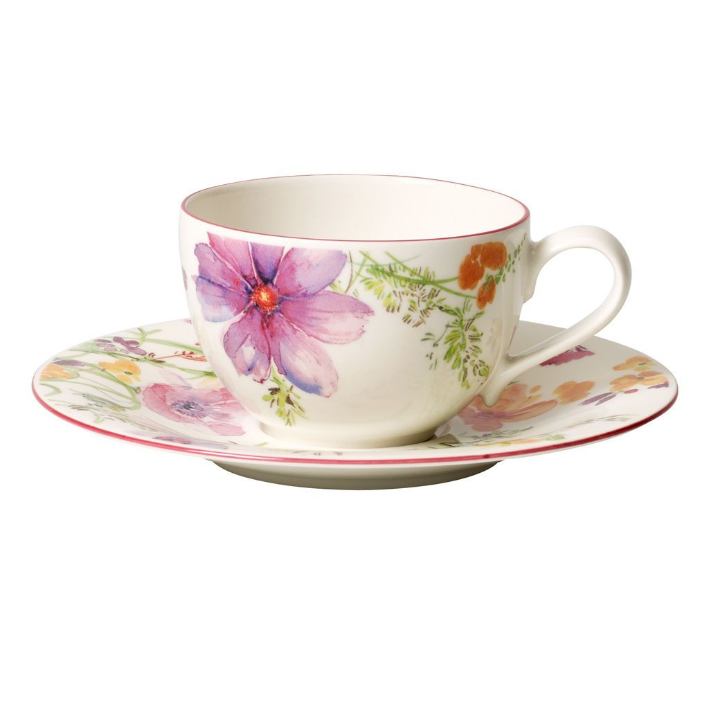 Villeroy Boch Mariefleur 6 Cups Coffee Long Cappuccino The 8 5oz Rivend 4003686179820 Ebay Tea Cups Villeroy Boch Tableware