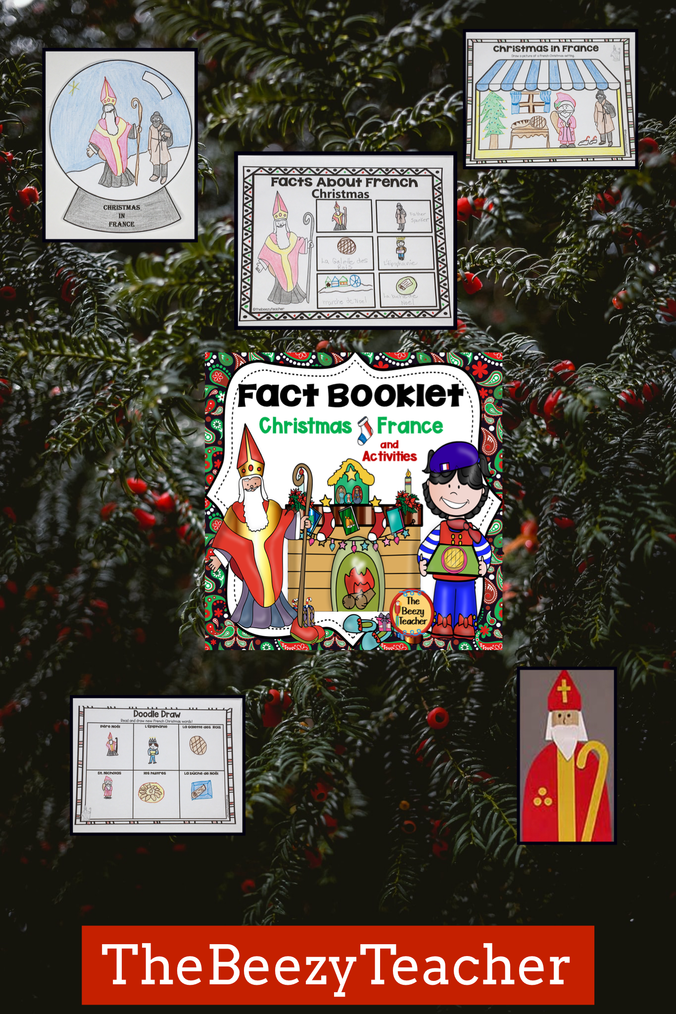 Christmas in France Fact Booklet and Activities Fiction