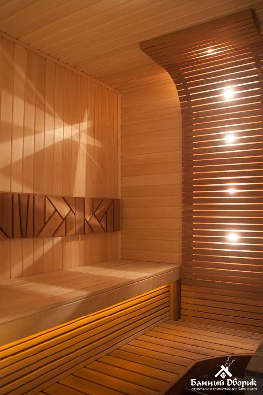 Banya S Neprostym Dizajnom Saunas Sauna Casas