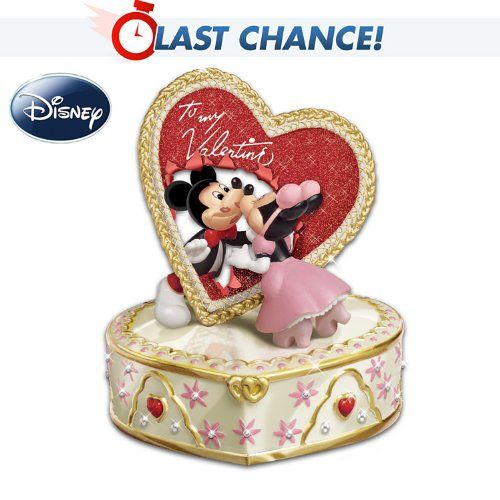 Disney Let Me Call You Sweetheart Valentines Day Music Box #disney @Mandee Hillman VanOrden Hillman VanOrden Pantier #MickyMousen #MinnieMouse #Valentines #heart #MusicBox