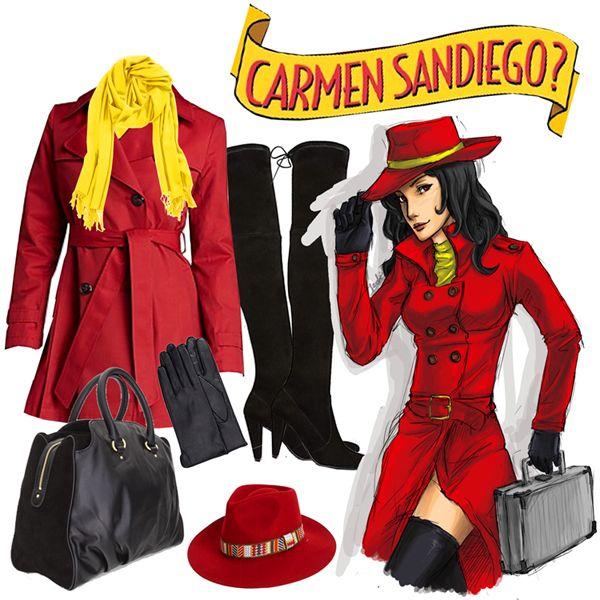 Resultado De Imagem Para Carmen Sandiego Costume Holidays