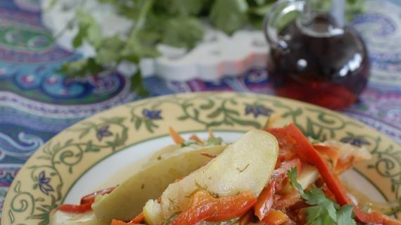 Димлама, узбекское блюдо, пошаговый рецепт с фото | Рецепт ...