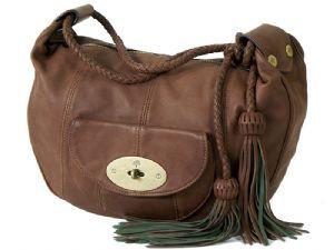 c9fe57d658 Mulberry Chestnut Nappa Leather Araline Bag