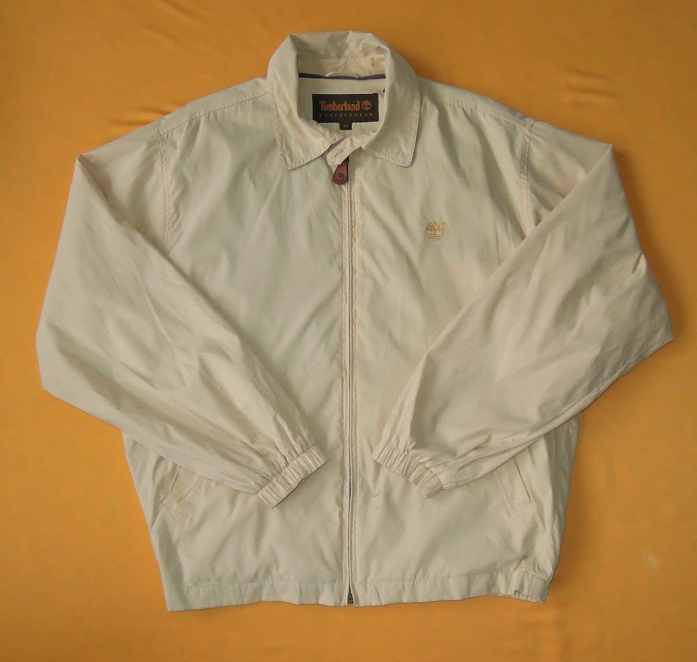 Timberland Weathergear Vintage 90s Harrington Jacket Cotton